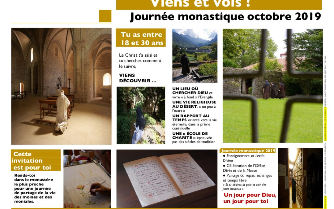 Journée monastique nationale